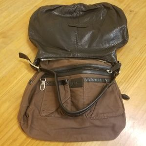 🦃 COLE HAAN Hobo Thick Pebbled 100%  Leather